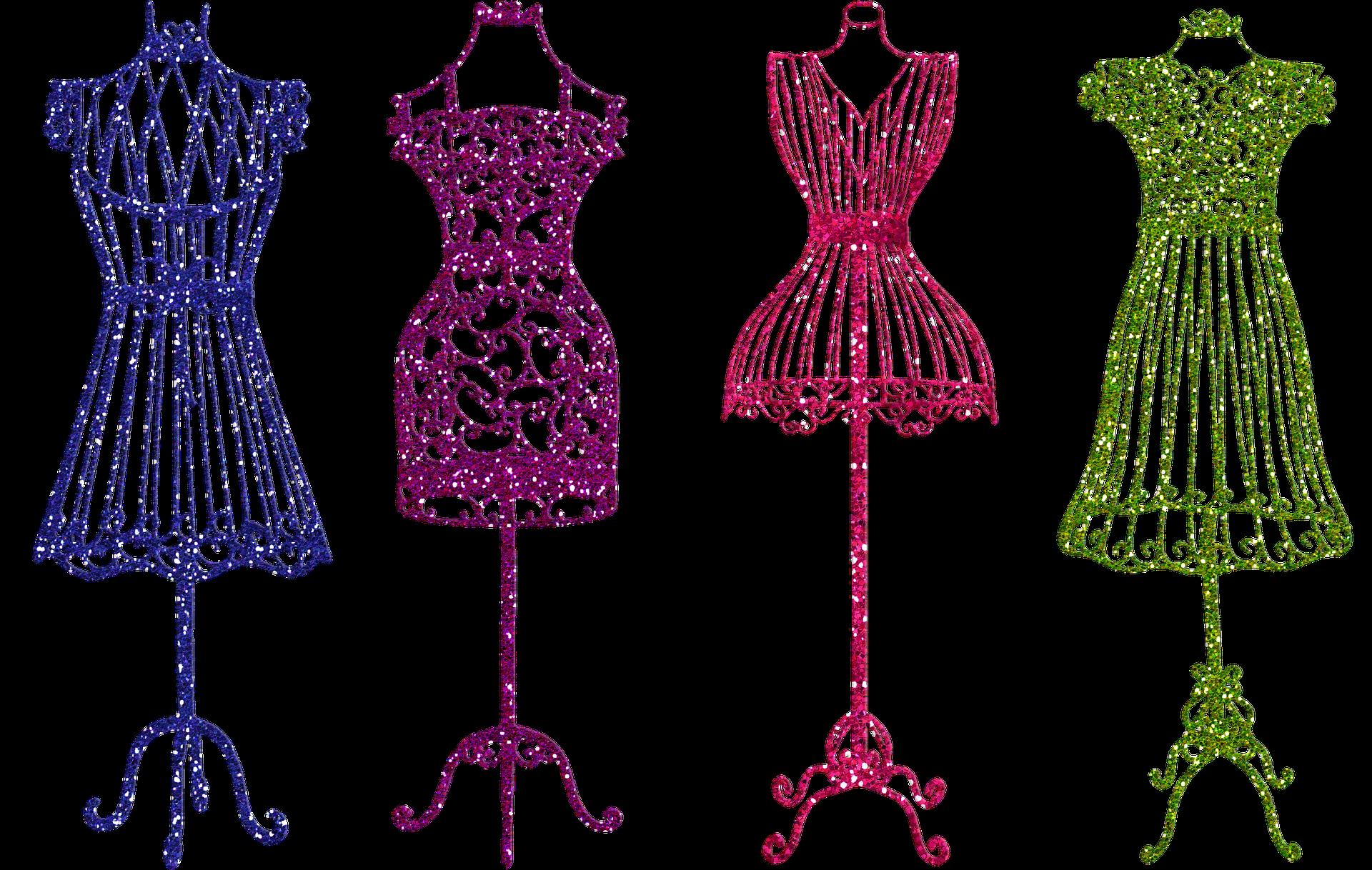 Cómo elegir el corte del vestido largo