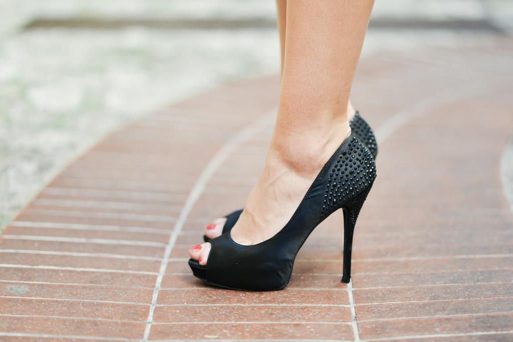 zapatos plataforma tacón de aguja
