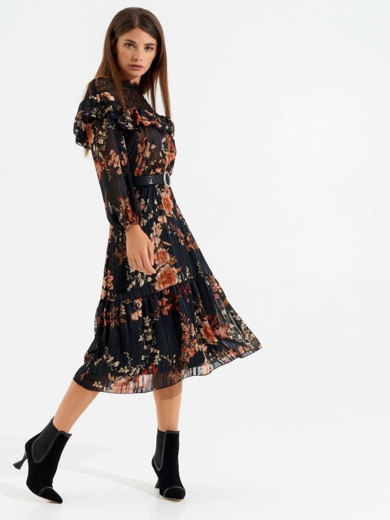 vestido largo otoño invierto Rinascimento 2020 2021